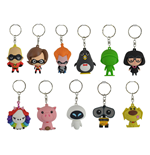 Disney 3D Rubber Keychain Series 8 Display (24)