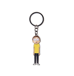 Rick & Morty - Morty With Movable Head Metal Keychain