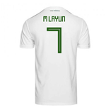 2018-2019 Mexico Away Adidas Football Shirt (M Layun 7)