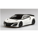 HONDA NSX 130R WHITE WITH MODULO WHEEL