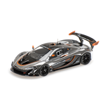 McLAREN P1 GTR CHROME AND GLOSS BLACK
