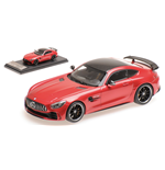 MERCEDES AMG GT R 2017 METAL RED