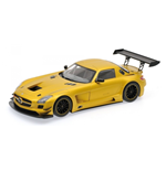 MERCEDES BENZ SLS AMG GT3 STREET VERSION GOLD