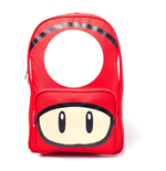 NINTENDO Super Mario Bros. Red Mushroom Print Backpack, Red
