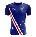 2018-2019 Australia Flag Away Concept Football Shirt