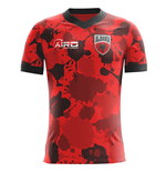 2018-2019 Albania Home Concept Football Shirt