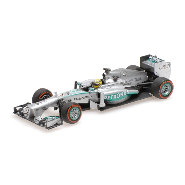MERCEDES AMG F1 TEAM W04 NICO ROSBERG USA GP 2013