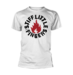 Stiff Little Fingers T-shirt Punk (WHITE)
