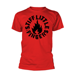 Stiff Little Fingers T-shirt Punk (RED)