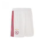 2018-2019 Ajax Adidas Home Shorts (White) - Kids