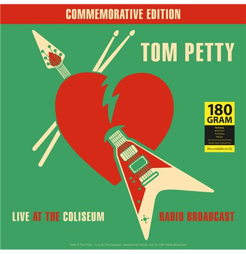Vynil Tom Petty - Best Of Live At The Coliseum Radio Broadcast 1987