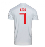 2018-2019 Japan Away Adidas Football Shirt (Endo 7)
