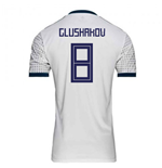2018-2019 Russia Away Adidas Football Shirt (Glushakov 8)