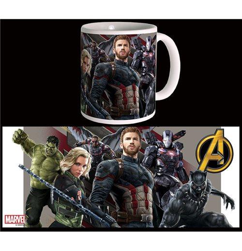 Avengers Infinity War Mug Wakanda Battle