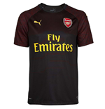2018-2019 Arsenal Puma Home SS Goalkeeper Shirt (Black)