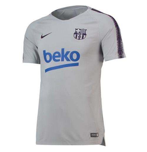 superior quality 9fabc 1c695 2018-2019 Barcelona Nike Training Shirt (Wolf Grey)