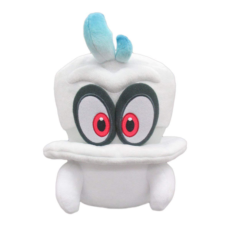 Nintendo Super MARIO Bros. Odyssey White Cappy Plush Toy