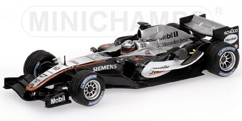 McLAREN MERCEDES MP4/20 1ST WIN WITH McLAREN J.P. MONTOYA BRITISH GP 2005