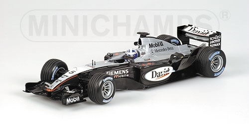 McLAREN MERCEDES MP4/18 D. COULTHARD 2003
