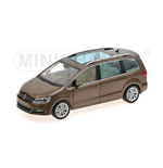 VOLKSWAGEN SHARAN 2010 BROWN METALLIC
