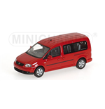 VOLKSWAGEN CADDY MAXI SHUTTLE 2007 RED