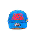 Super Mario Cap - Super Mario And Luigi Curved Bill 53 Cm Multicolor