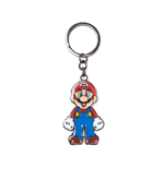 Super Mario - Mario Metal Keychain With Movable Head