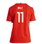 2018-19 Wales Home Shirt (Bale 11) - Kids