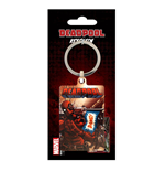 Deadpool Metal Keychain Bang 6 cm