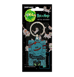 Rick and Morty Metal Keychain Mr. Meeseeks 6 cm