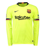 2018-2019 Barcelona Away Nike Long Sleeve Shirt