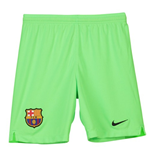 2018-2019 Barcelona Away Nike Goalkeeper Shorts (Green) - Kids