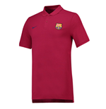2018-2019 Barcelona Nike Core Polo Shirt (Red)