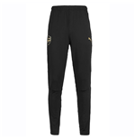 2018-2019 Arsenal Puma Fitted Training Pants with Pockets (Black) - Kids