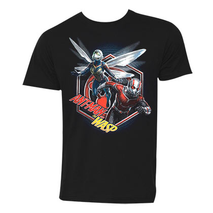 ANT-MAN And The Wasp Hex Men's Black TShirt