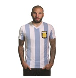 Argentina 1982 V-neck T-Shirt | White