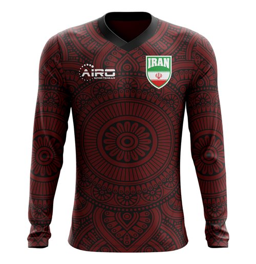 2018-2019 Iran Long Sleeve Away Concept Football Shirt