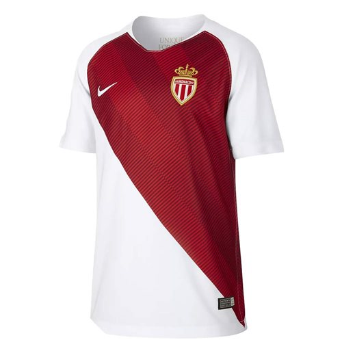 2018-2019 Monaco Home Nike Shirt (Kids)