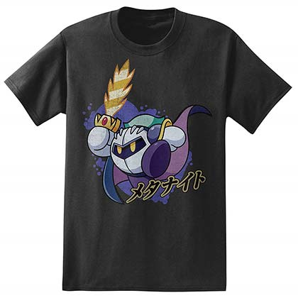 sneakers for cheap ac1a8 133f8 Kirby Meta Knight Men s Black T-Shirt