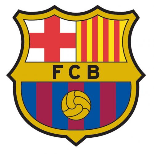 F.C. Barcelona Large Crest Sticker