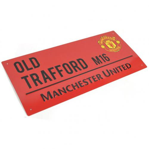 Manchester United F.C. Street Sign RD