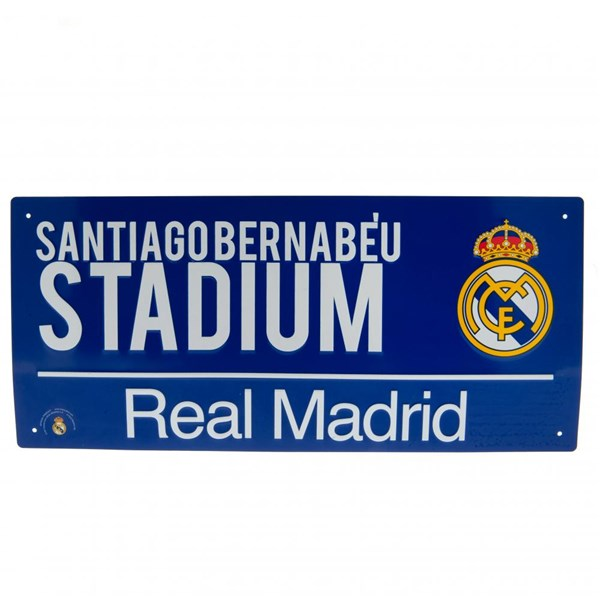 Real Madrid F.C. Street Sign BL