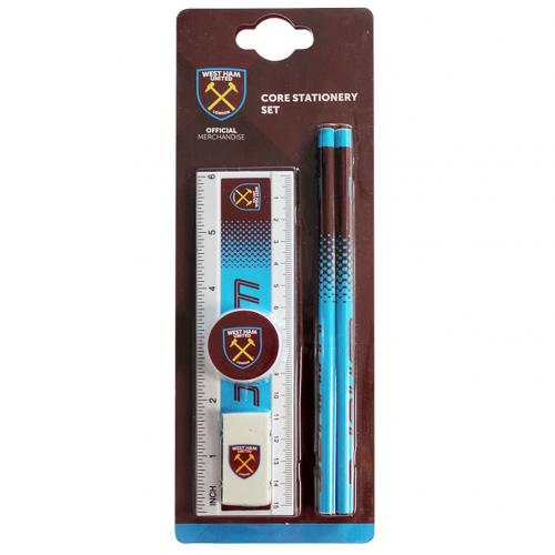West Ham United F.C. Core Stationery Set FD
