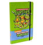 Teenage Mutant Ninja Turtles Hardcover Ruled Journal Retro
