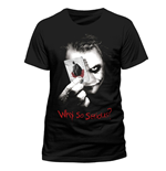 Batman The Dark Knight T-Shirt Why So Serious