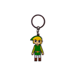 Zelda - Link With Movable Head Metal Keychain