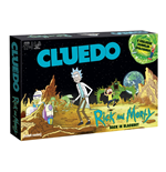 Rick and Morty Board Game Clue Back in Blackout *German Version*