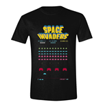 Space Invadaers T-Shirt Game Screen