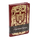 Vampire Diaries Hardcover Ruled Journal Logo