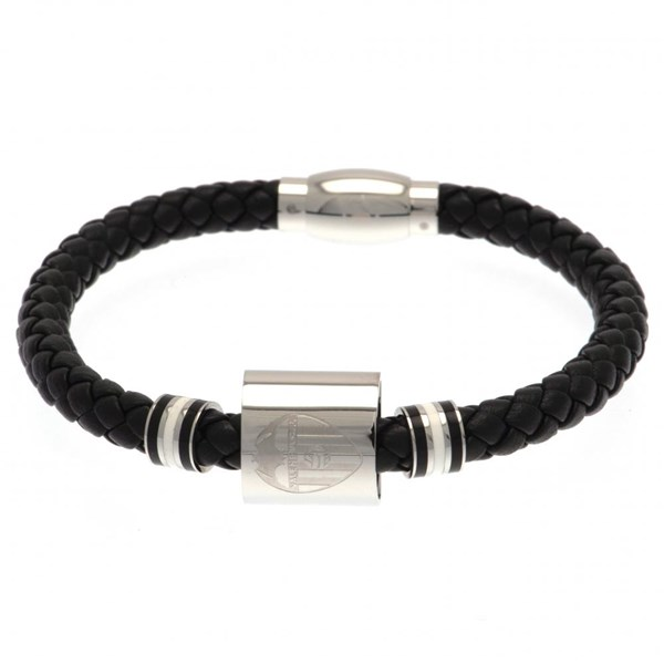 Valencia C.F. Colour Ring Leather Bracelet